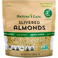 Nature's Eats Blanched Slivered Almonds, Natural, 10 Ounce