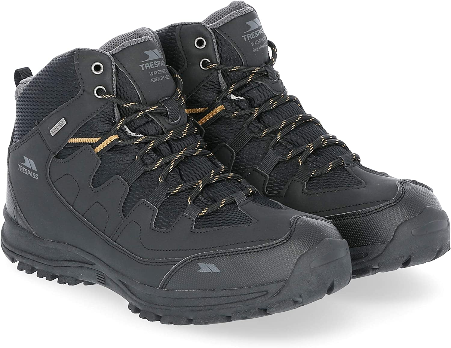 Trespass Mens Finley High Rise Hiking Boots