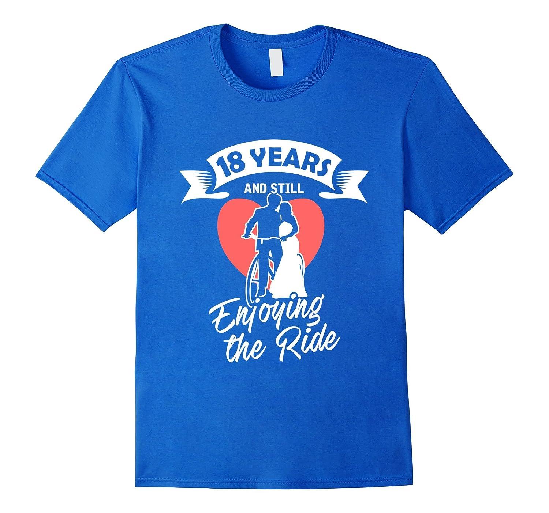 18th Wedding Anniversary T-Shirt Gift – Perfect Couple Tee