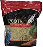 Ecotrition Essential Blend Food For Parakeets, 5 Pounds, Resealable Bag