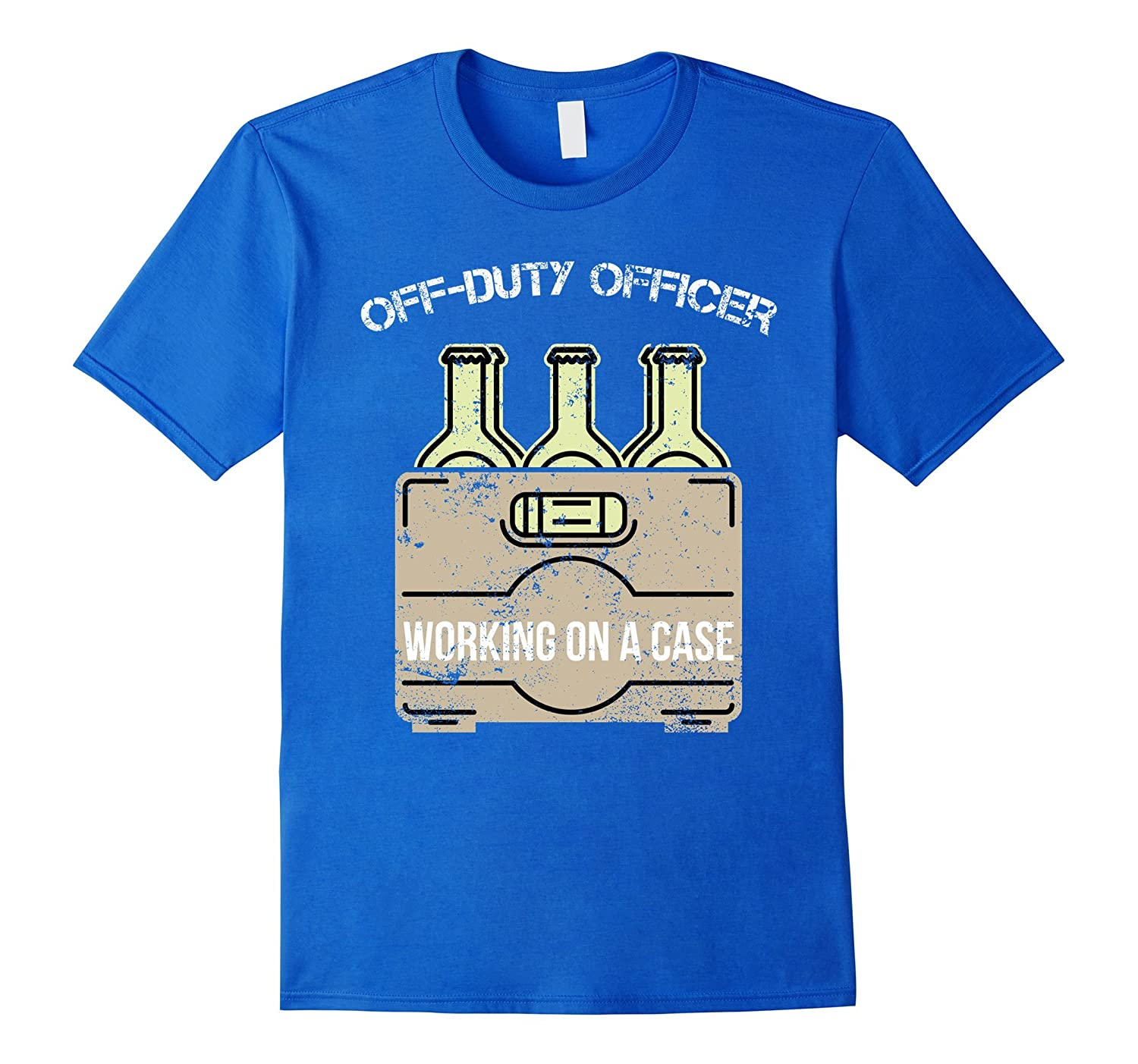 622ad274 Off Duty Officer Funny Police T Shirt Funny Police Gifts-CL – Colamaga
