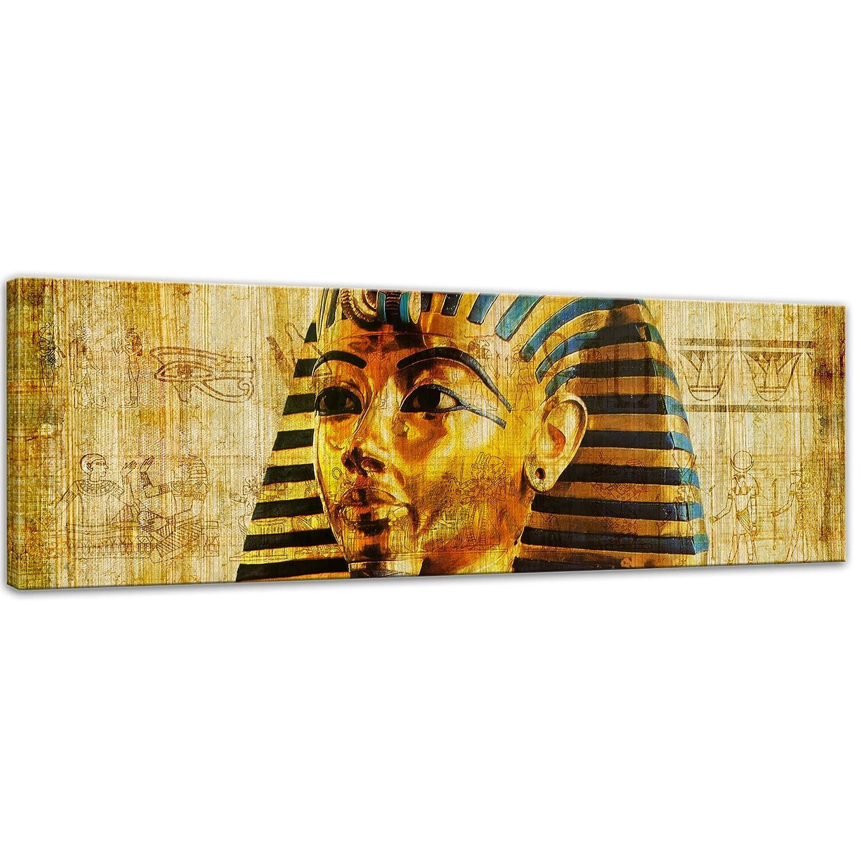 Kunstdruck Kunstdruck Kunstdruck - Pharao - Ägypten - Bild auf Leinwand - 180 x 120 cm 4tlg - Leinwandbilder - Bilder als Leinwanddruck - Städte & Kulturen - Afrika - altes Ägypten - Pharaonenmaske b43f6b