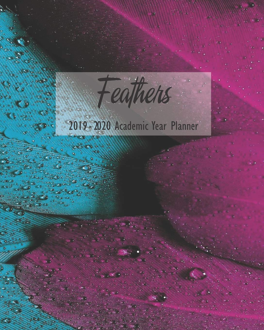Feathers 2019 - 2020 Academic Year Planner: Weekly Monthly ...