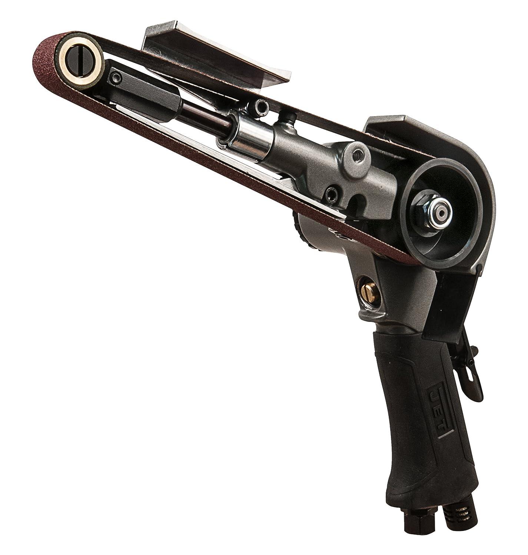 JET JAT-751 Pneumatic R8 Mini Belt Sander, 3/4 x 20-1/2 3/4 x 20-1/2 WMH Tool Group