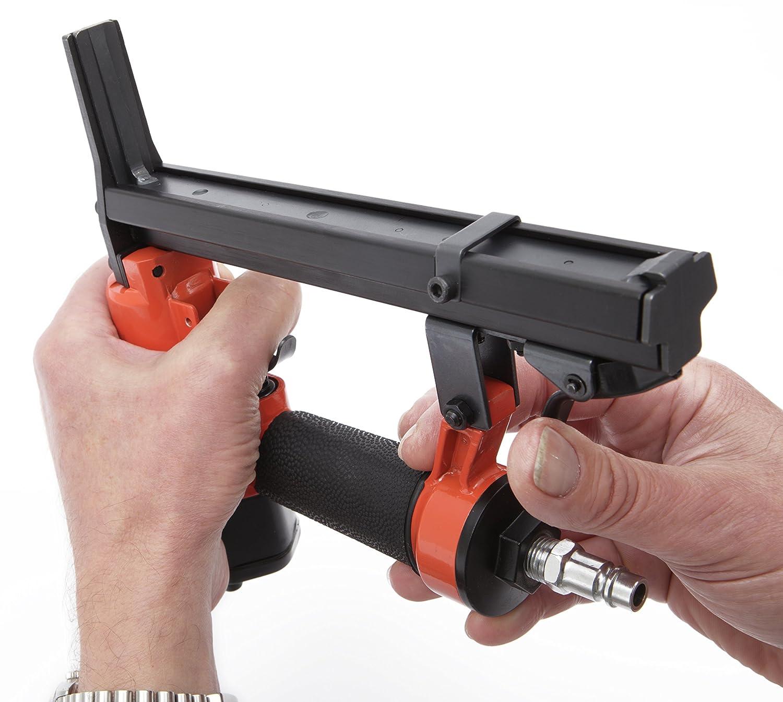 para grapas 80//4-16 especial para tapiceros Tacwise A8016LN Pistola grapadora neum/ática de nariz larga