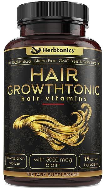 Hair Growth Vitamins >> Amazon Com Hair Growthtonic Hair Growth Vitamin Hair Skin