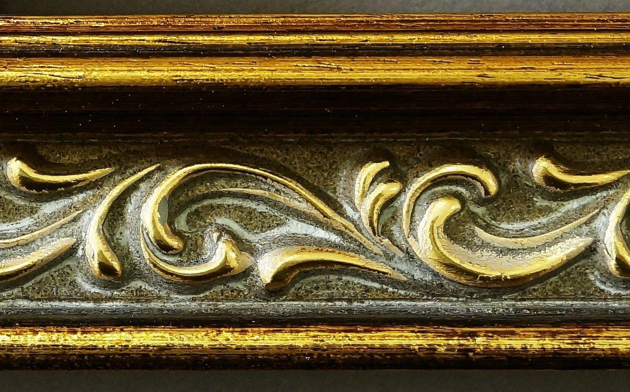 Online Galerie Bingold Spiegel Wandspiegel Badspiegel Flurspiegel Flurspiegel Flurspiegel Garderobenspiegel - Über 200 Größen - Verona Gold 4,4 - Größe des Spiegelglases 30 x 50 - Wunschmaße auf Anfrage - Modern 6b90da