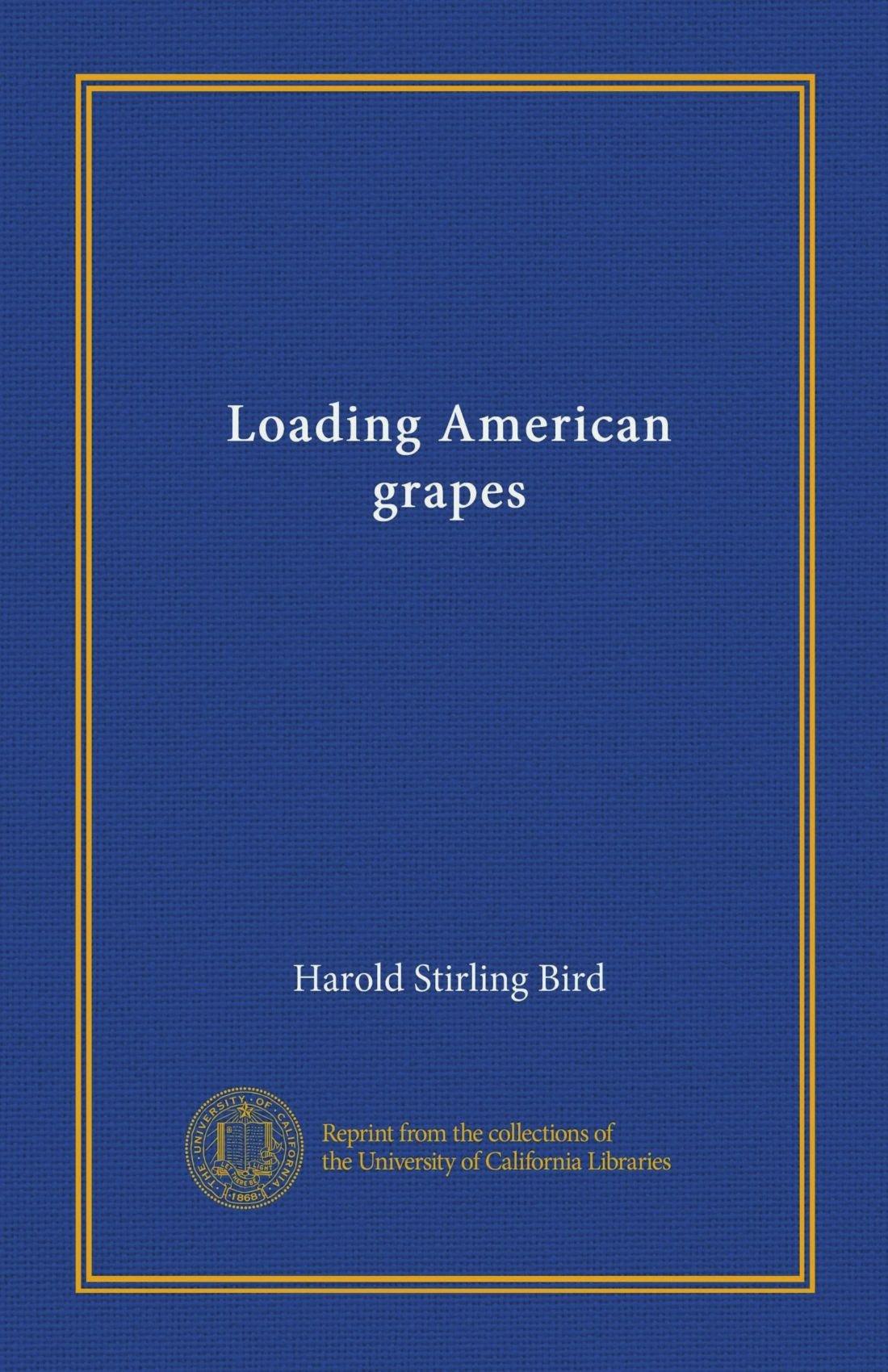 Loading American grapes PDF ePub fb2 book