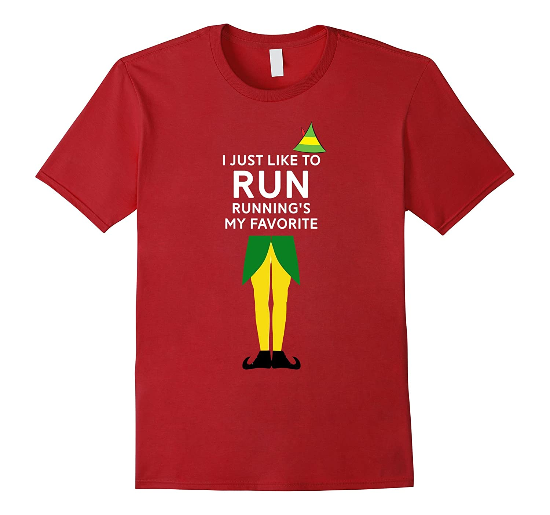 Christmas Running Shirt - Running Christmas T Shirt Tshirt-ANZ ...