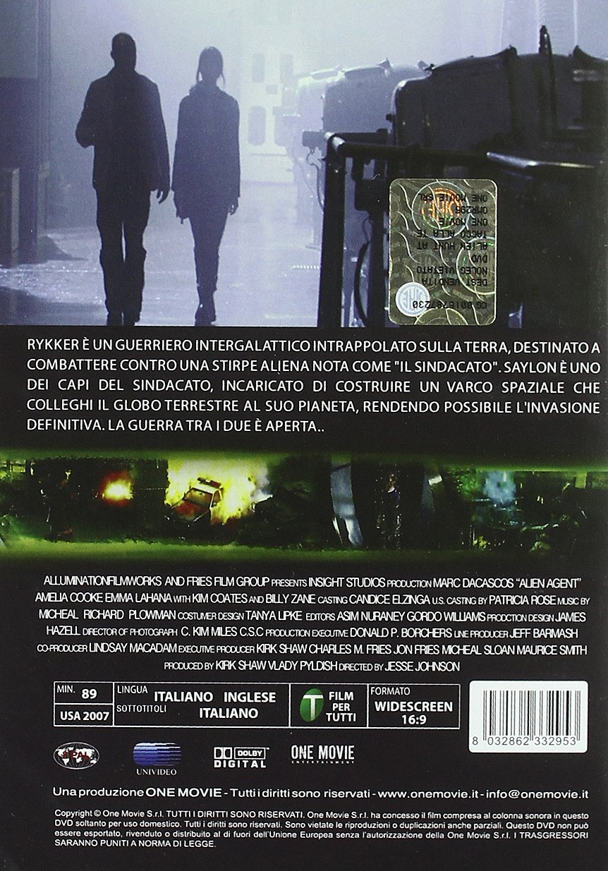 Amazon.com: Alien Agent [Italian Edition]: kim coates, mark dacascos, jesse v. johnson: Movies & TV
