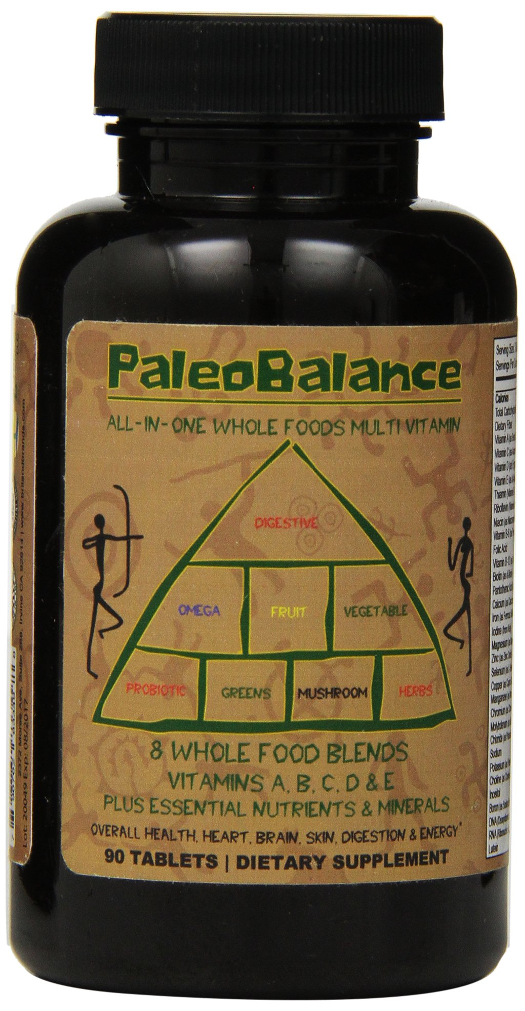 Amazon.com: PaleoBalance All-In-One Whole Foods Multivitamin ...