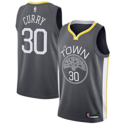 6be35def29d Outerstuff Stephen Curry Golden State Warriors Charcoal Youth Alternate  Swingman Jersey (Medium 10 12