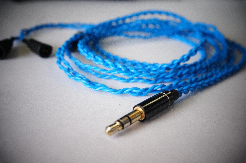[해외]BuyJapan Blue Moon 교체 업그레이드 케이블 ◆ 블루 ◆ Sennheiser IE80IE8 대응 / Buyjapan Blue Moon Replacement Upgrade cable ◆ Blu ◆ Sennheiser IE80IE8 support