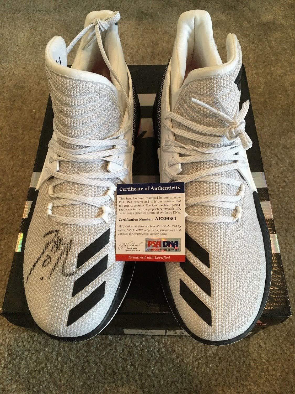 Damian Lillard Autographed Signed Memorabilia Dame 3 Adidas Size 13 Shoes Nba PSA/DNA