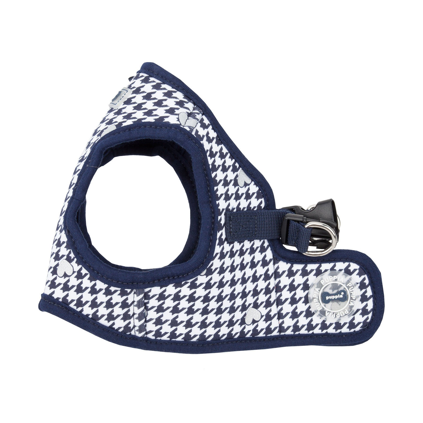 Puppia Authentic Aggie Harness B, Medium, Navy by Puppia