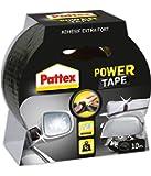 Pattex Rouleau de ruban adhésif Power Tape - Noir - 10 m