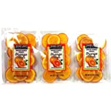 Trader Joe's Sweetened Dried Orange Slices, 5.3 oz / 150 g (Pack of 3)