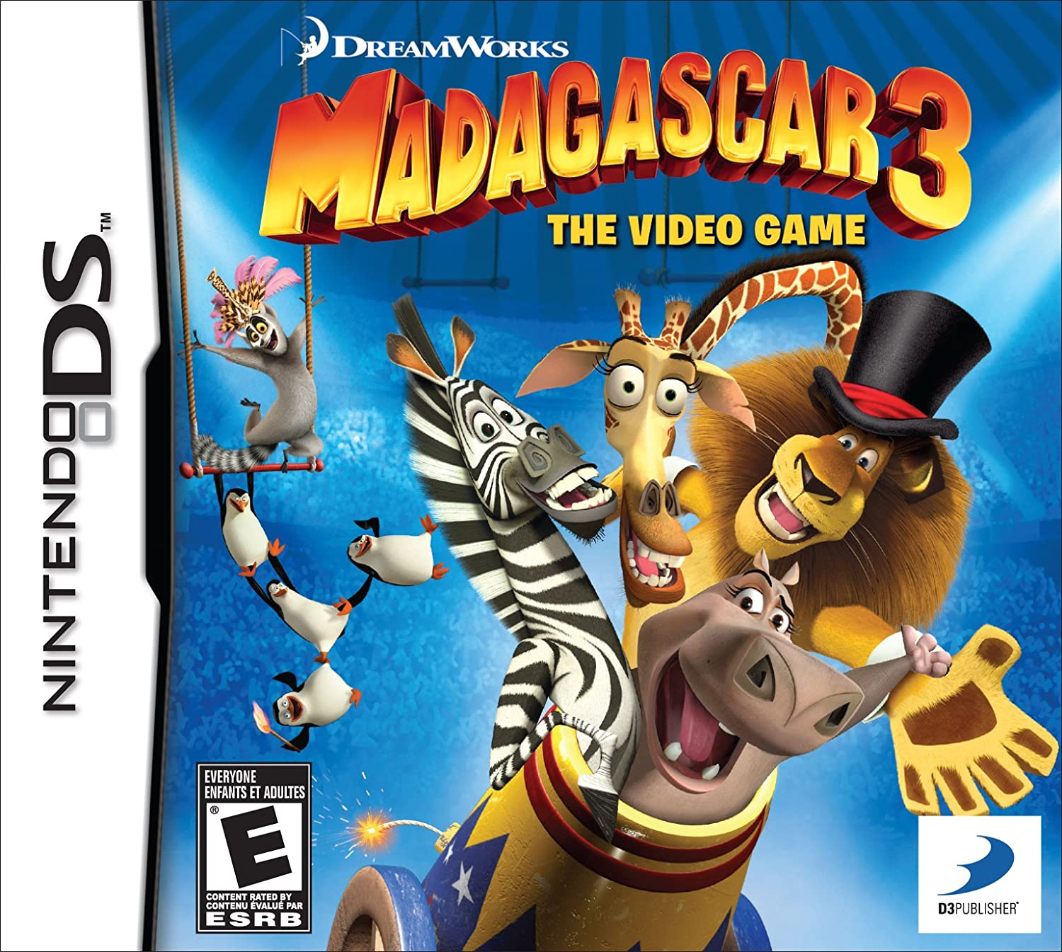 Amazoncom Madagascar 3 The Video Game Xbox 360 D3 Publisher