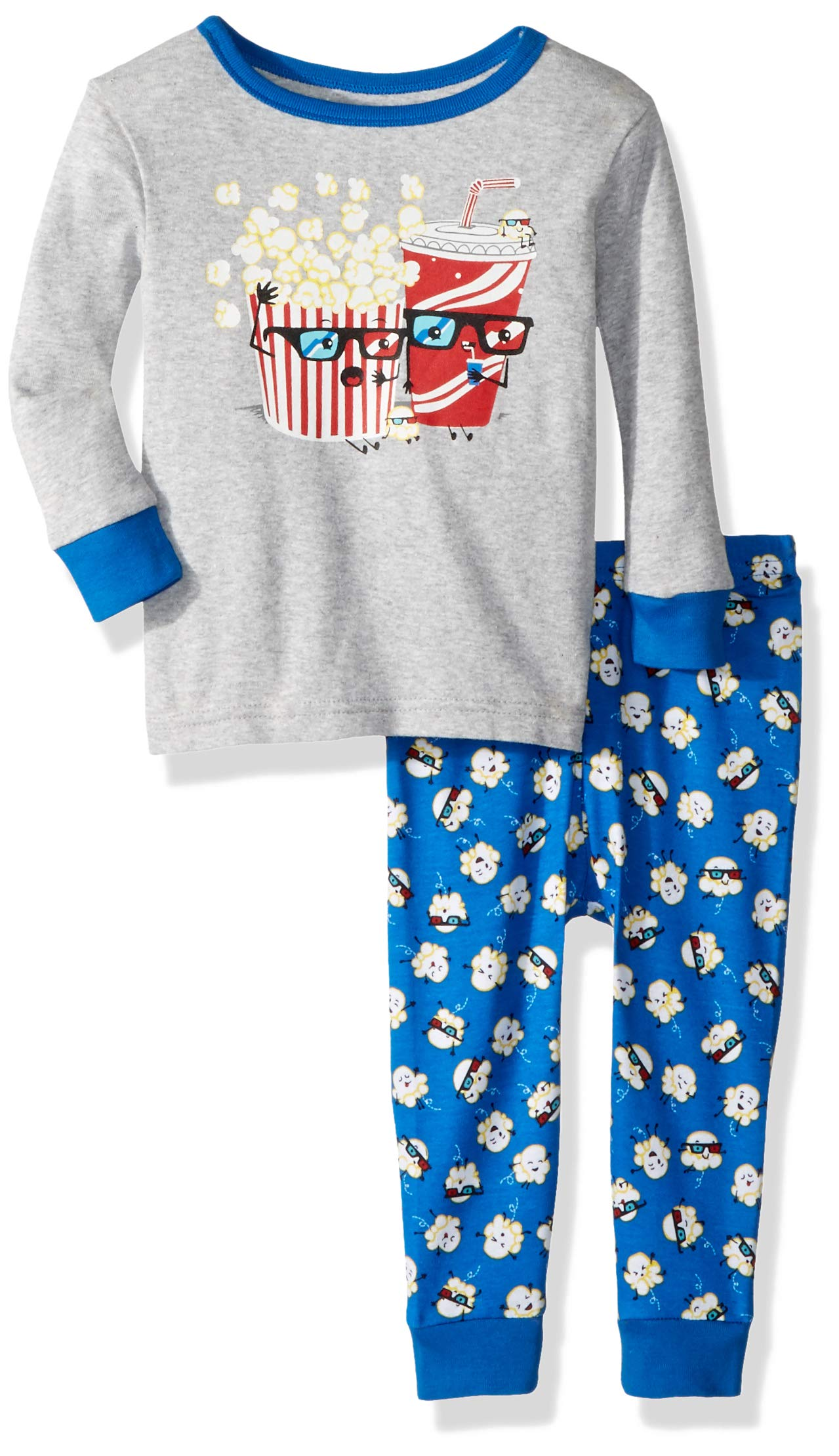 Boy Lamaze Organic Baby Organic Baby//Toddler Girl Unisex Tight Fit Pajamas Set