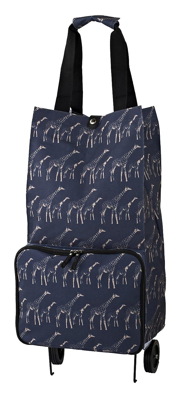 Ulster Weavers Collapsable Space Saving Shopping Trolley Bag in Giraffes Design 9GIR01