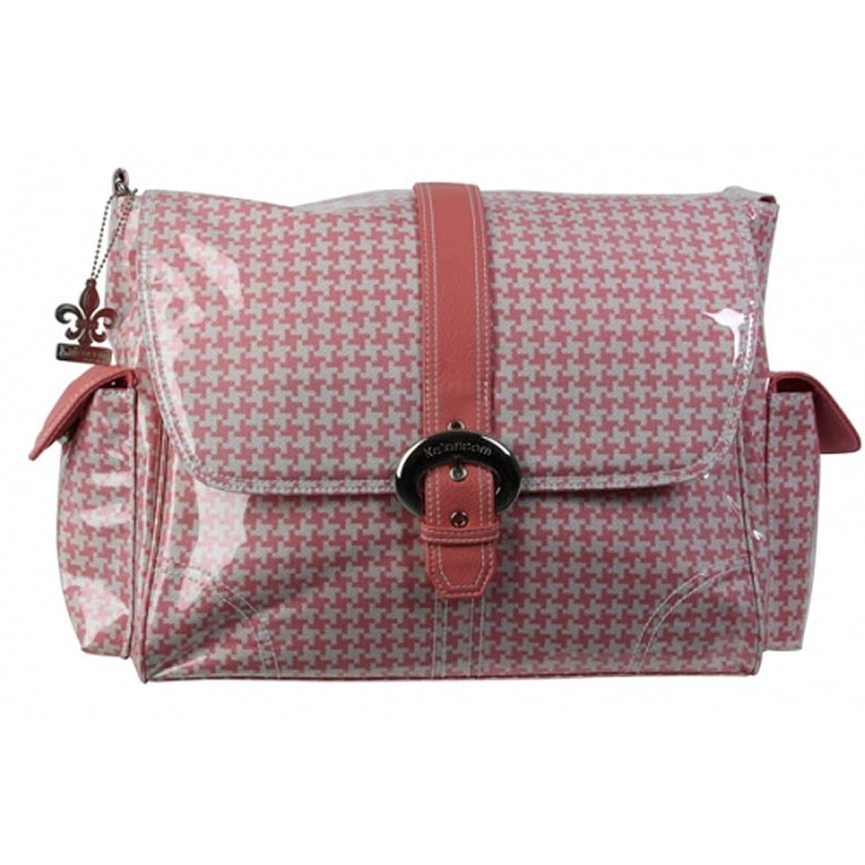 Kalencom - Bolsillo interior con revestimiento impermeable, Rosa (Pink Houndstooth) 56428