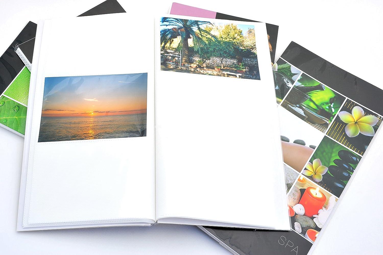 10/pi/èces. / 96/photos CAD. 10/albums photos personnalisables face//dos /à pochettes 10/x 15/pour 960/photo /graphiques assorties/ /Conf