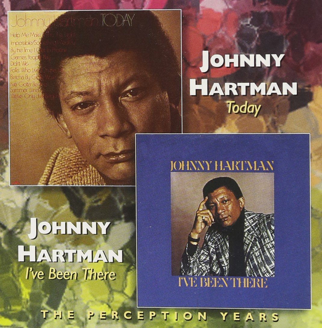 CD : Johnny Hartman - Today /  I've Been There (CD)