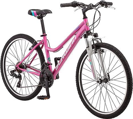 Schwinn High Timber Bicicleta de montaña para mujer, ruedas de 26 ...