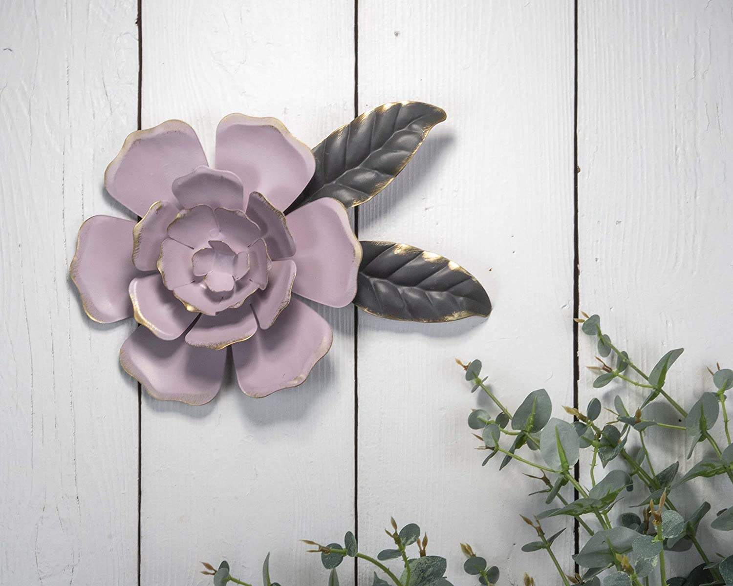 Foreside Home & Garden Foreside Home and Garden Flora Wall Flower Small