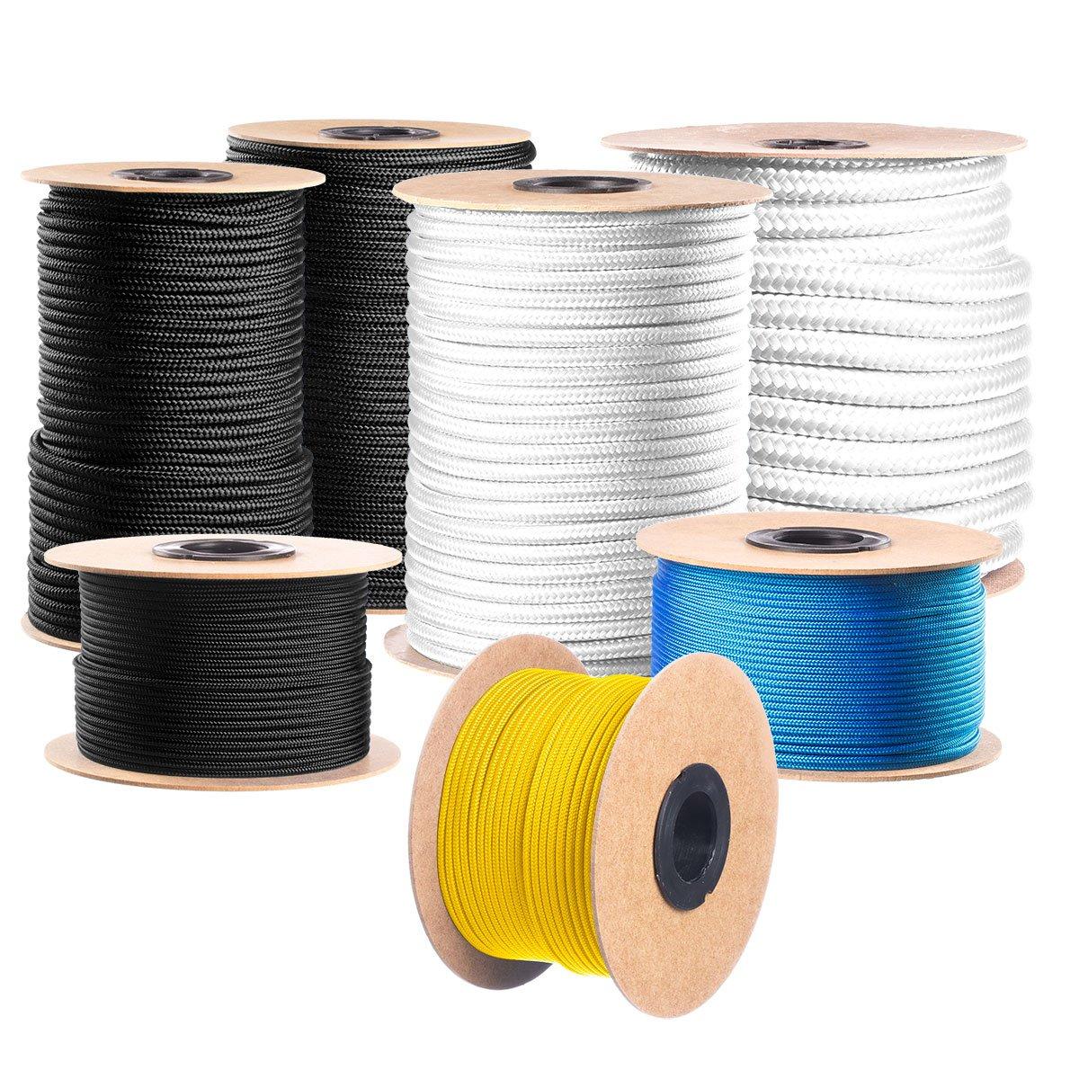 Seilwerk STANKE Fuerza 10mm Polea con gancho yute Cuerda,Longitud 10m