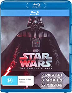Star Wars Complete Saga (9 DISC) (Blu-ray)