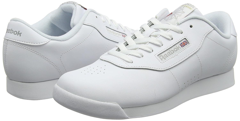 Reebok Princess, Zapatillas de Gimnasia para Mujer, Blanco White, 44 EU: Amazon.es: Zapatos y complementos