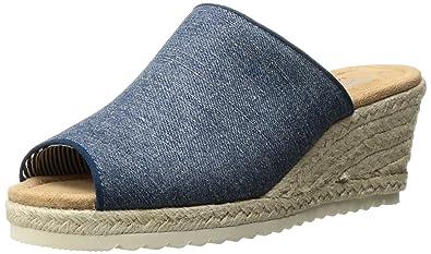 skechers denim sandals