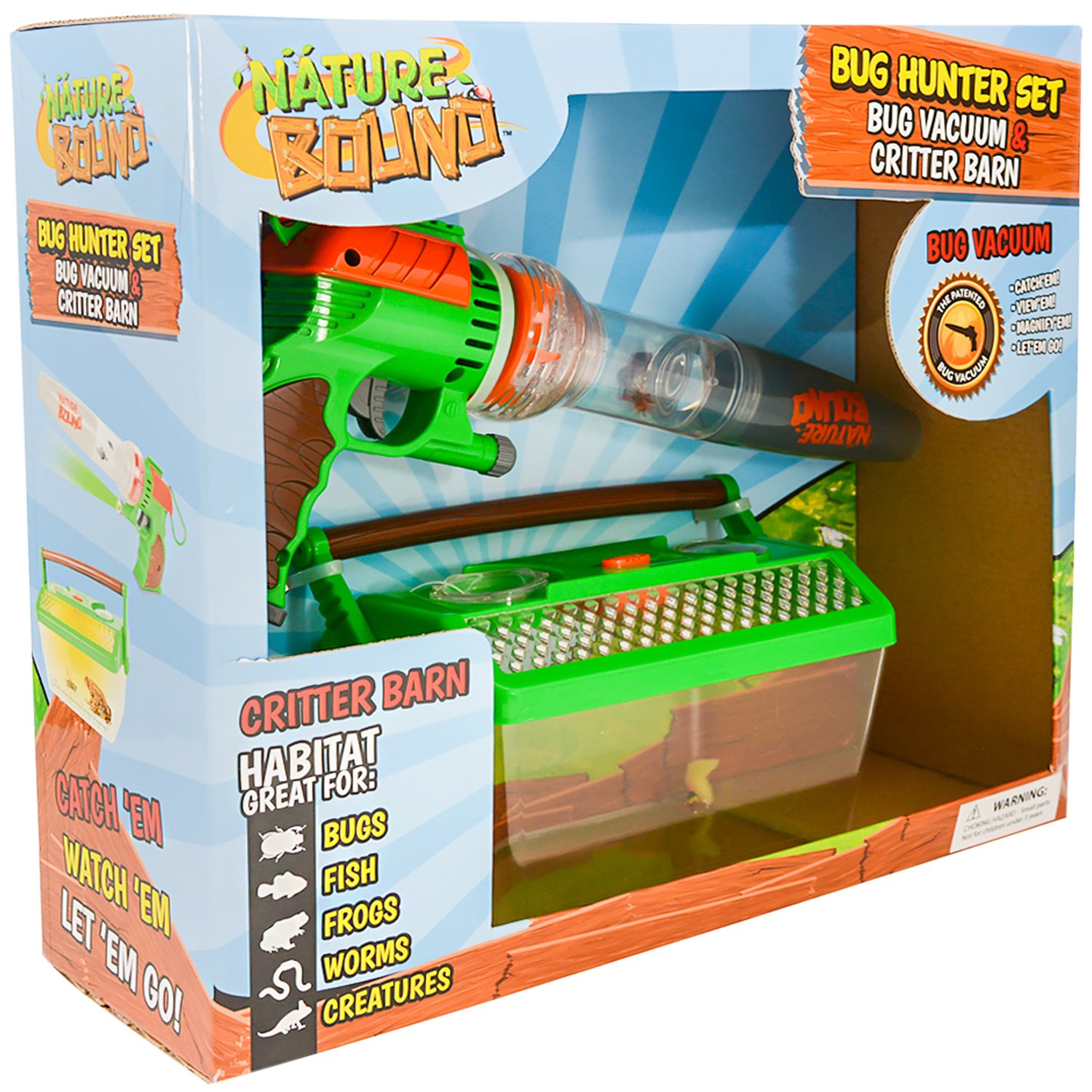amazon com nature bound bug catcher vacuum with light up critter