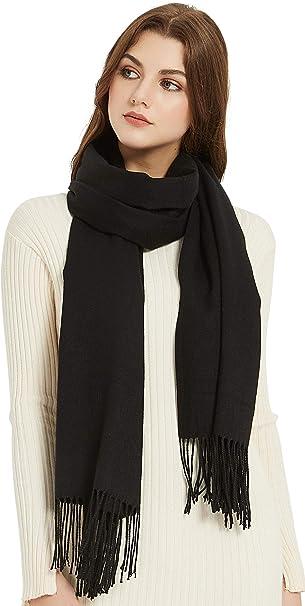 Premium Quality Virgin Wool Cashmere Shawls Scarf Wrap Stole Head Scarves