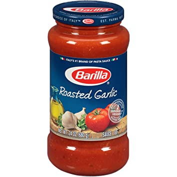 Barilla Pasta Sauce, Roasted Garlic, 24 oz