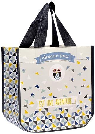 Fox Trot 9331JOUR Petit Sac Cabas, Plastique, Chaque Jour