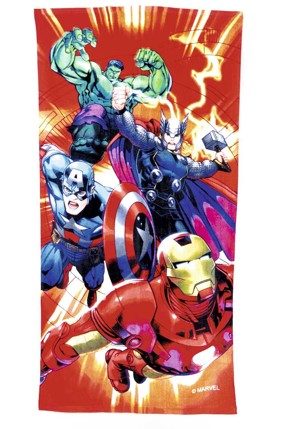 Marvel Avengers Character Beach And Bath Towel 140cm X 70cm 100 Cotton Buy Online In Honduras At Honduras Desertcart Com Productid 65536118