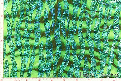 Dance Costume Lycra Fabric Geometric Print  Spandex sold by the 1//2 metre
