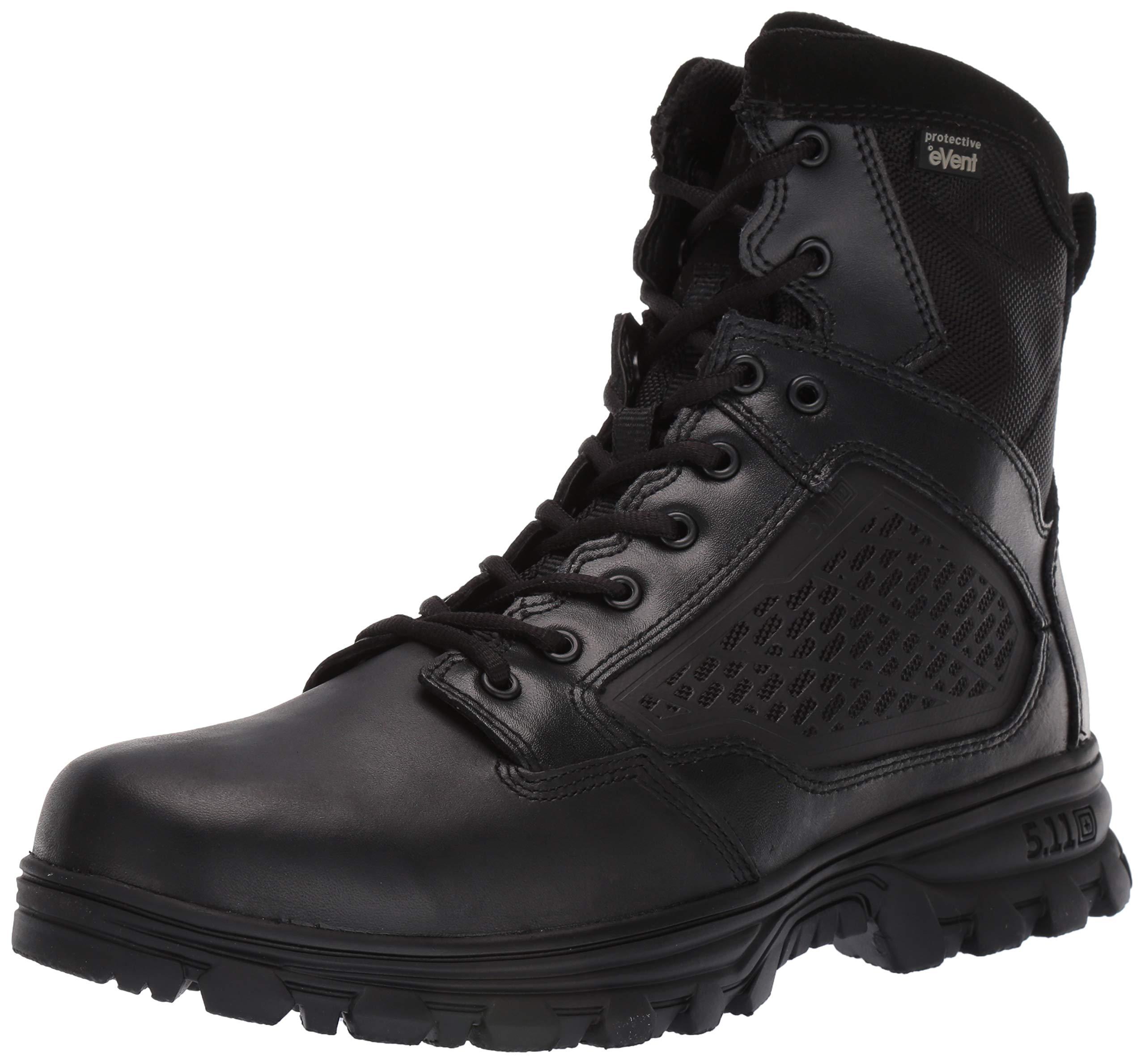 5.11 Men's Evo 6'' Side Zip Waterproof-M, Black 7 D(M) US by 5.11
