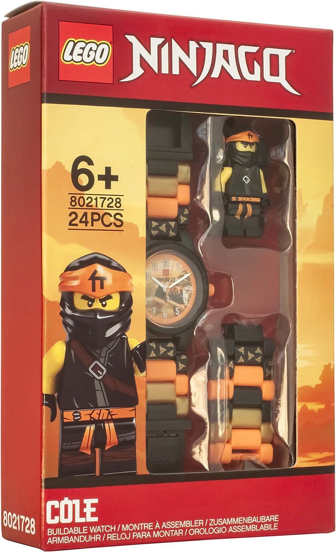 Amazon.com: ClicTime Boys LEGO Ninjago Analog Quartz Watch ...