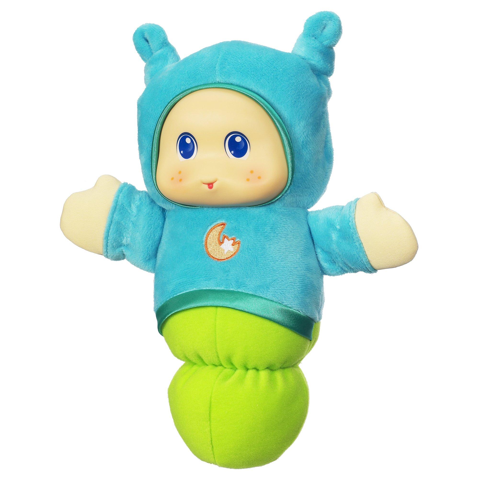 Playskool Lullaby Gloworm Toy, Blue (Amazon Exclusive)