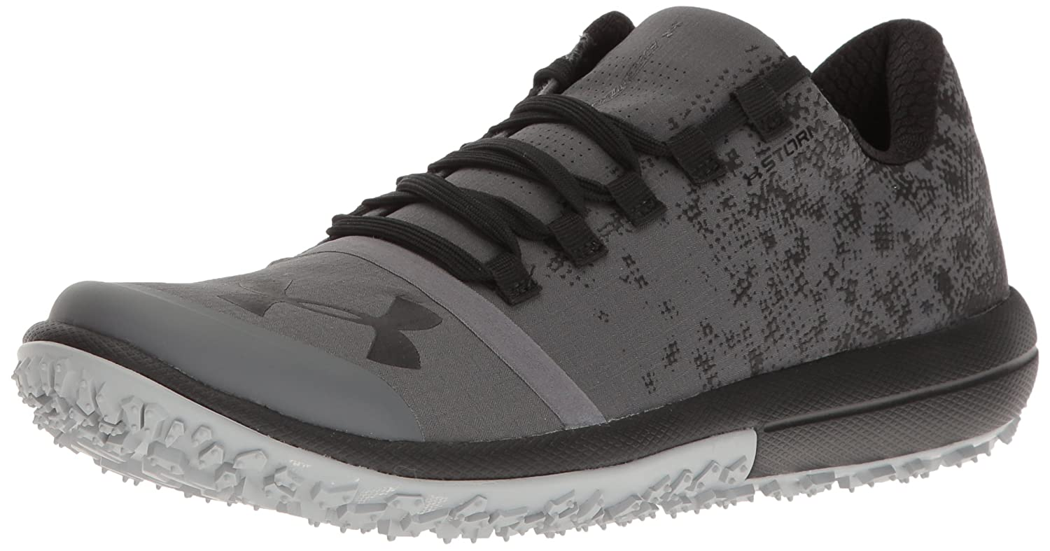 Under Armour Men's Speed Tire Ascent Low Running Shoe B01GQIWYZ8 7 M US|Rhino Gray (076)/Black