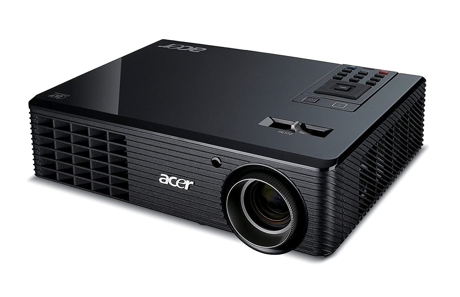 Acer X110 Projector SVGA DLP 3D, ECO, CBII+, Zoom, 2.2Kg, 4000:1, 2500Lm  (discontinued by manufacturer): Amazon.co.uk: TV