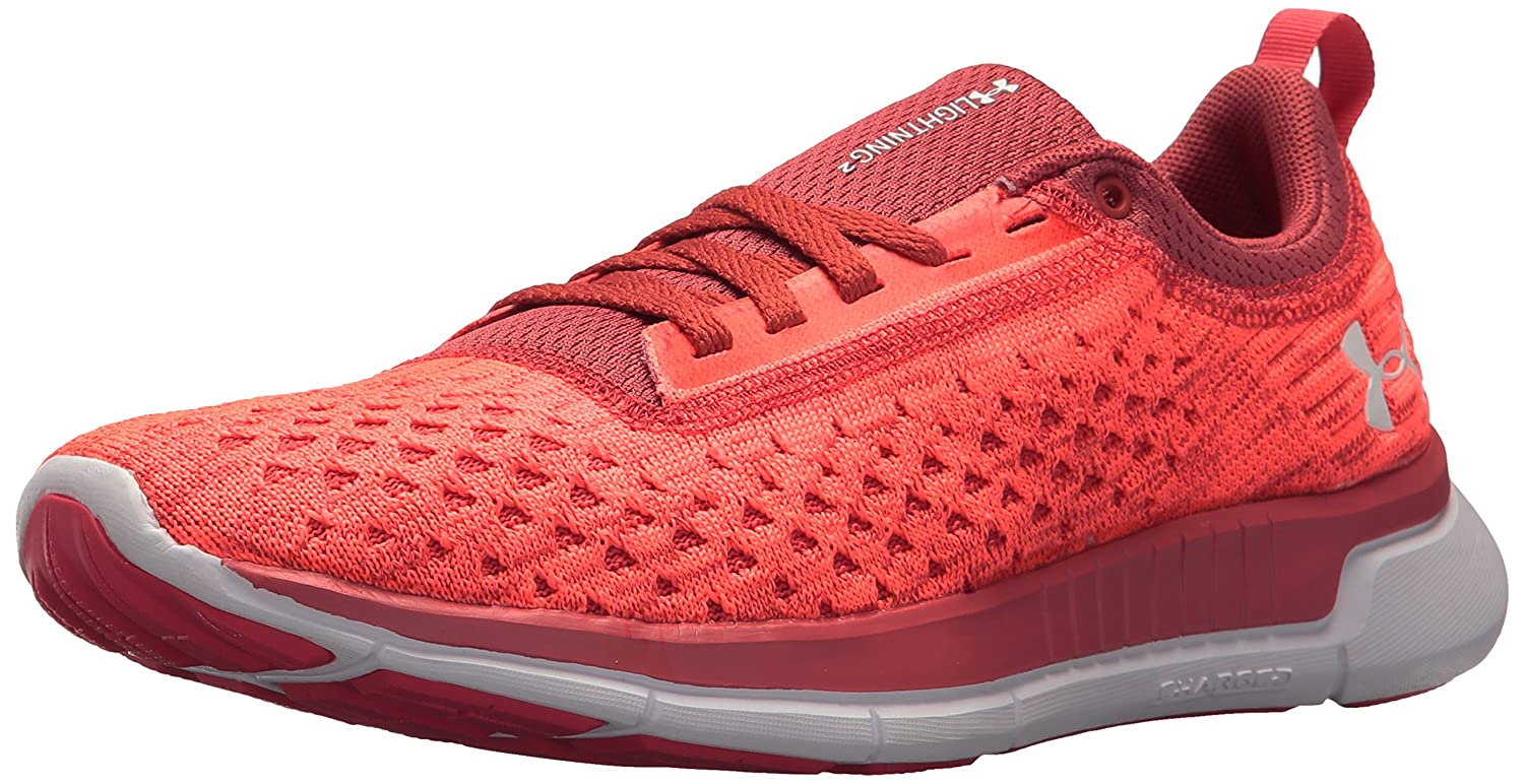 Under Armour Women's Lightning 2 Running Shoe B071VL1L5X 10.5 M US|Brilliance (600)/Rustic Red