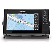 $644 » Simrad Cruise 9-9-inch GPS Chartplotter with 83/200 Transducer, Preloaded C-MAP US…