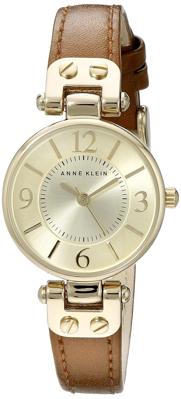 Anne Klein Women s 10 9442 Leather Strap Watch