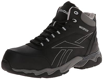 Reebok Work Men's Beamer RB1068 Work Shoe, Black, ...