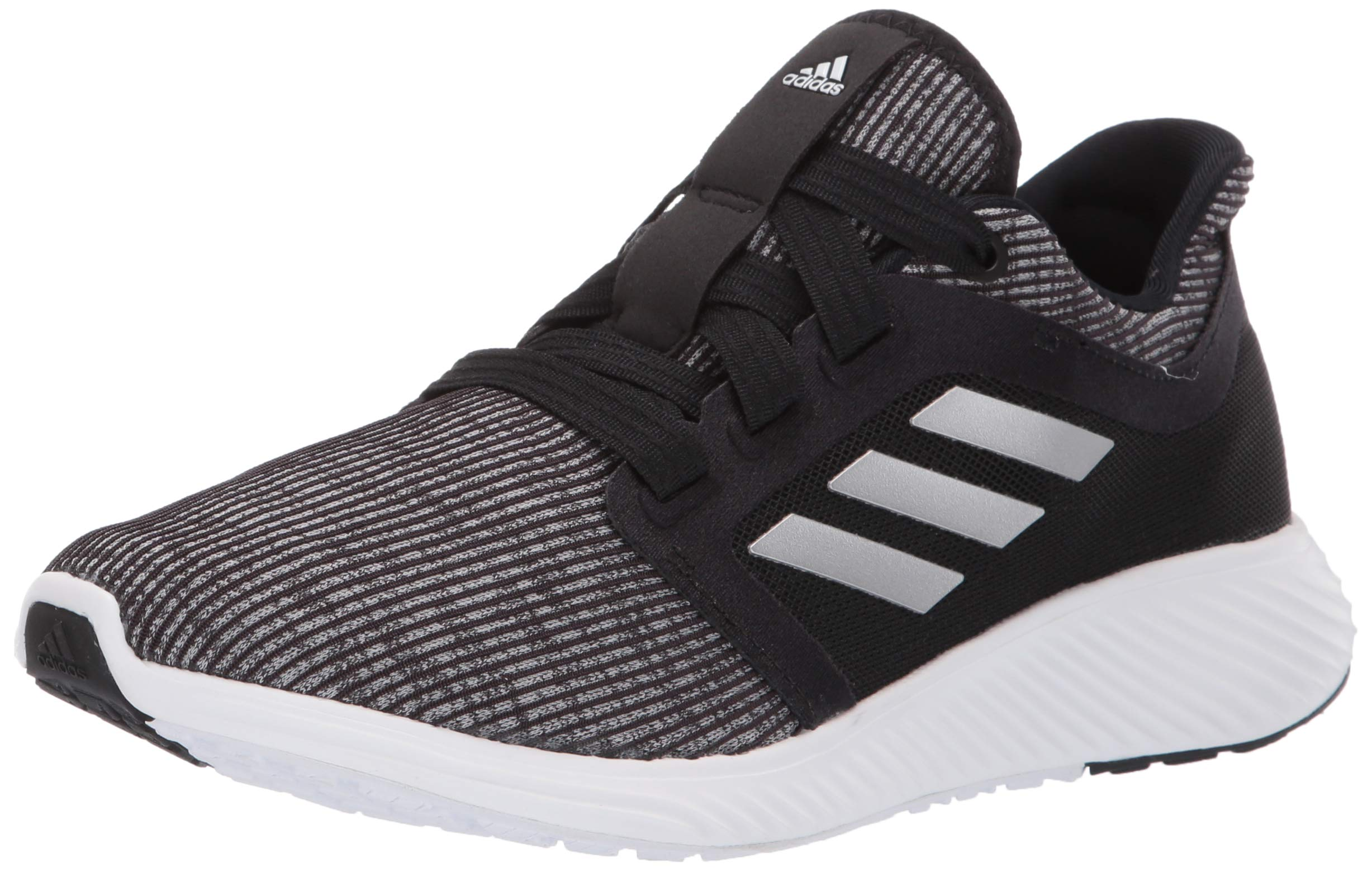 adidas Women's Edge Lux 3 Running Shoe, Silver Metallic/Black, 7.5 M US by adidas