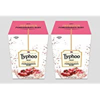 Typhoo Fruit Infusion Pomegranate Ruby 25 Tea Bag Pack Of 2